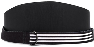 Yohji Yamamoto Pre Owned x Adidas 2000's wide layered belt