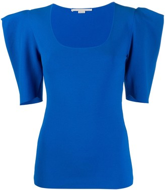 Stella McCartney structured shoulders T-shirt