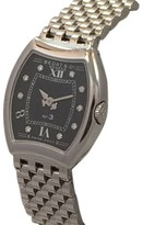 Bedat & Co No.3 Diamond Dial Stainless Steel Womens Watch