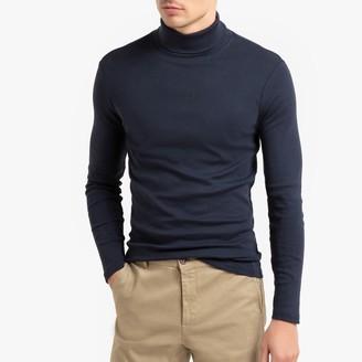 La Redoute Collections Cotton Roll Neck T-Shirt