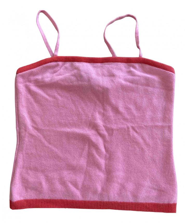 BCBGMAXAZRIA Pink Cashmere Knitwear