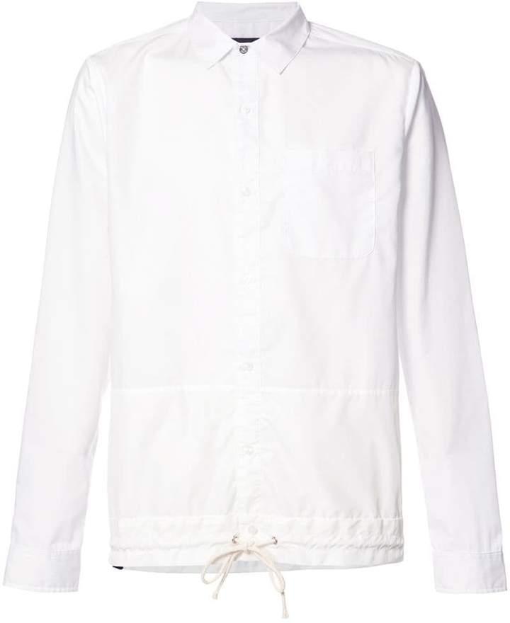 Mostly Heard Rarely Seen drawstring hem shirt