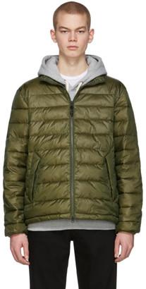 The Very Warm Green Liteloft Puffer Jacket