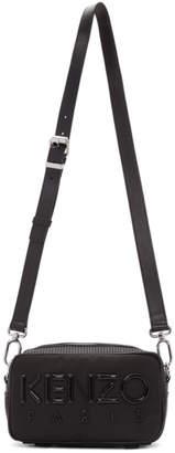 Kenzo Black Logo Crossbody Bag