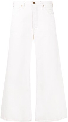 Citizens of Humanity Wide Leg Crop Jeans