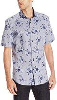 Bogosse Men's Mini D-Arch 83 Short Sleeve Button Down Shirt