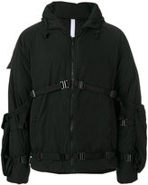 Cottweiler hooded padded jacket
