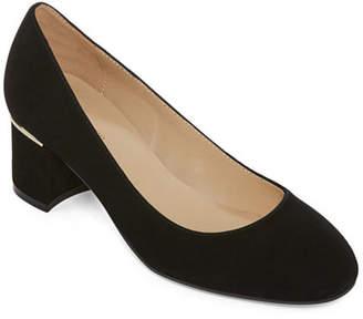 Liz Claiborne Womens Kylie Leather Dress Shoes