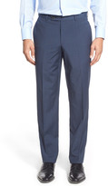 Ted Baker Jefferson Flat Front Solid Wool Trouser