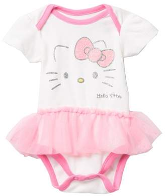 Hello Kitty HAPPY THREADS Tutu Bodysuit (Baby Girls)