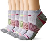 Saucony Women's 6 Pack Performance No-Show Sport Socks