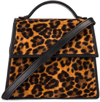 Hunting Season Small Top Handle Bag in Leopard | FWRD