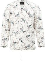 08sircus floral print blazer - men - Cotton/Cupro - 4