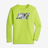 Nike Dry Legend Block Camo Big Kids' (Boys') Long Sleeve Training Top