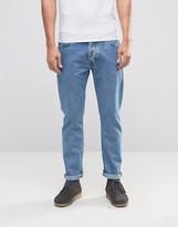 Wrangler Boyton Stone Bleach Tapered Jeans