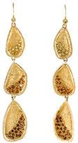 Melinda Maria Crystal Tier Drop Earrings