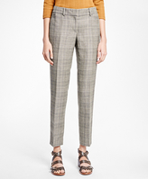 Brooks Brothers Tapered Glen Plaid Trousers