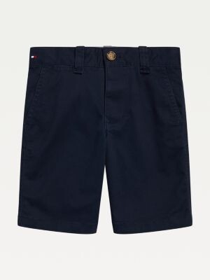 Tommy Hilfiger Adaptive Stretch Cotton Adjustable Waist Shorts