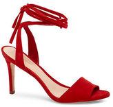 Loeffler Randall Ankle Tie Dress Heel Sandals