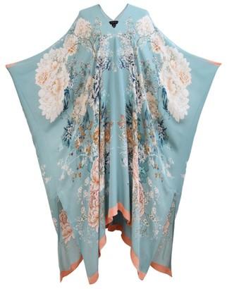 MENG Silk Floral Kaftan