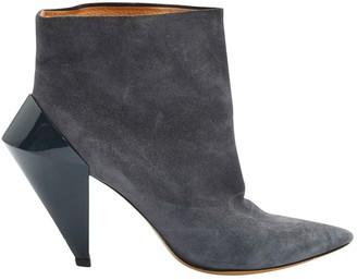 Maison Margiela Grey Suede Ankle boots