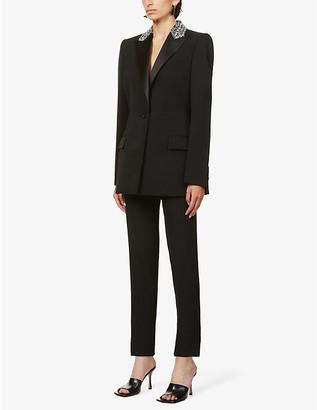 Givenchy Sequin-embellished wool blazer