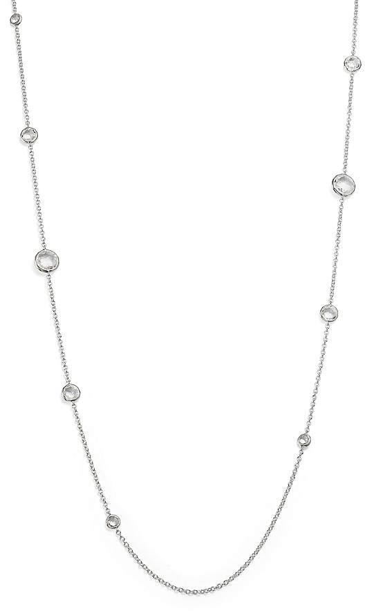 Ippolita Sterling Silver Rock Candy® Lollipop Necklace in Clear Quartz