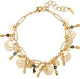Chan Luu Gold-tone Turquoise Bracelet