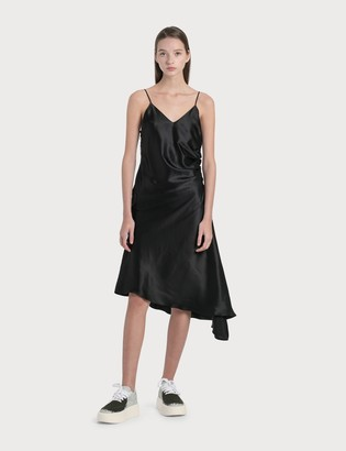 MM6 MAISON MARGIELA Satin Asymmetric Dress