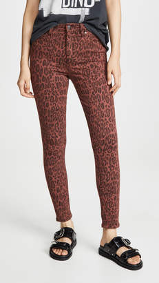 Joe's Jeans The Charlie Leopard Skinny Jeans