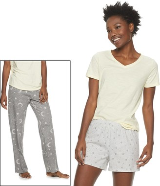 Sonoma Goods For Life Women's 3-Piece Pajama Set