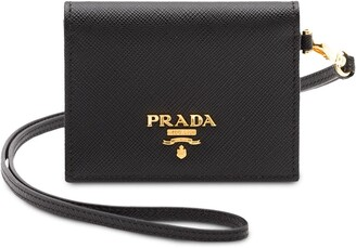 Prada Logo Card Holder
