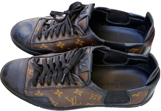Louis Vuitton Match Up Black Cloth Trainers