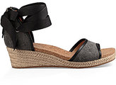 UGG Amell Canvas Wedge Espadrilles