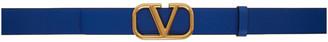 Valentino Blue Garavani VLogo Belt