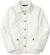 Ralph Lauren Girls' Diamond Quilted Barn Jacket - Sizes S-XL