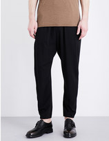 Isabel Benenato Coulisse wool-blend trousers