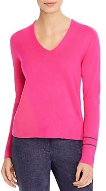 Fabiana Filippi Brass Sleeve Detail Cashmere Sweater