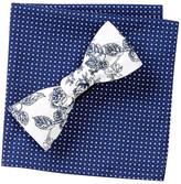 Original Penguin Gates Floral Bow Tie & Pocket Square Set