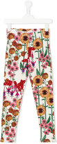 Mini Rodini Garden leggings - kids - Organic Cotton/Spandex/Elastane - 7 yrs
