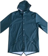 Rains Green Polyester Trench coats