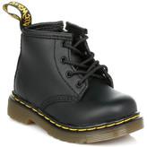 Dr. Martens Infant Black Brooklee B Softy T Leather Boots Black
