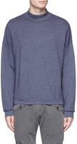 NSF 'Mateo' mock neck sweatshirt