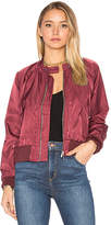 Free People Midnight Bomber in Burgundy. - size L (also in )