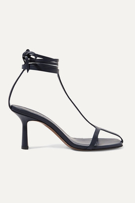 Neous Anthus Leather Sandals - Navy
