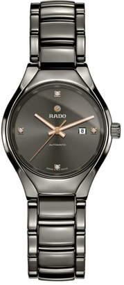 Rado True Automatic Diamond Bracelet Watch, 30mm