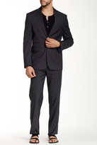 Vince Camuto Notch Lapel Two Button Wool Suit