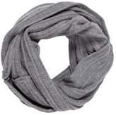 Alice + Olivia Wool Rib Knit Infinity Scarf