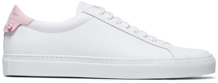Givenchy Leather low top sneakers with knot detail