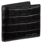 BOSS Croc Print Bifold Wallet